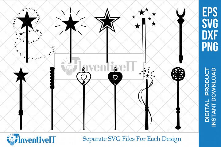 Magic Wand | Wand Svg | Fairy Wand | Fairy Svg |