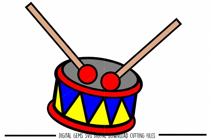 Drum SVG / PNG / EPS / DXF files