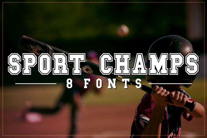 Sport Champs Font Pack | Sports Font