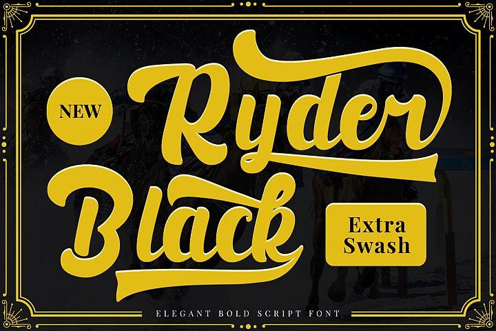 Black Ryder - Bold Script