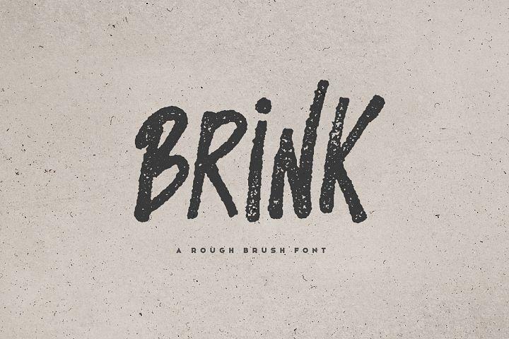 Brink - Brush Font