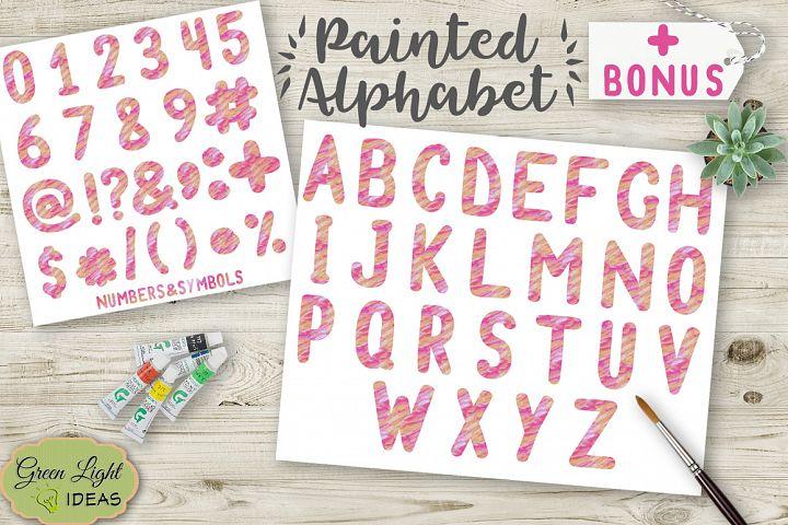 Painted Alphabet