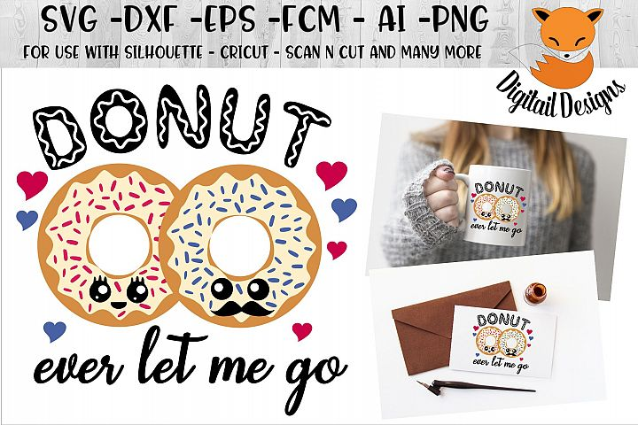 Donut Valentine SVG