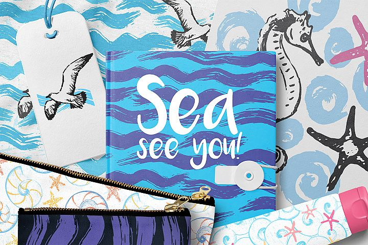 Sea, See You! Patterns&Prints