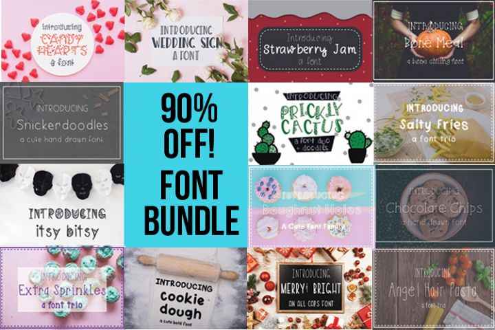 13 Font Collection