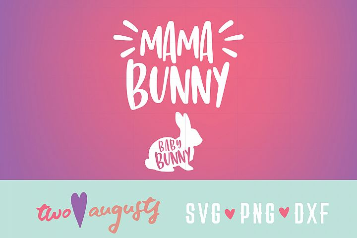 Mama Bunny / Woodland, Easter, Spring, Maternity, Baby, Cute
