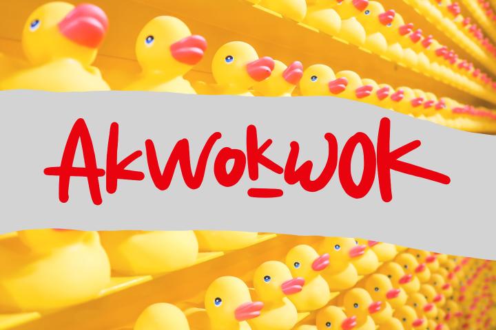 Akwokwok Playful Font