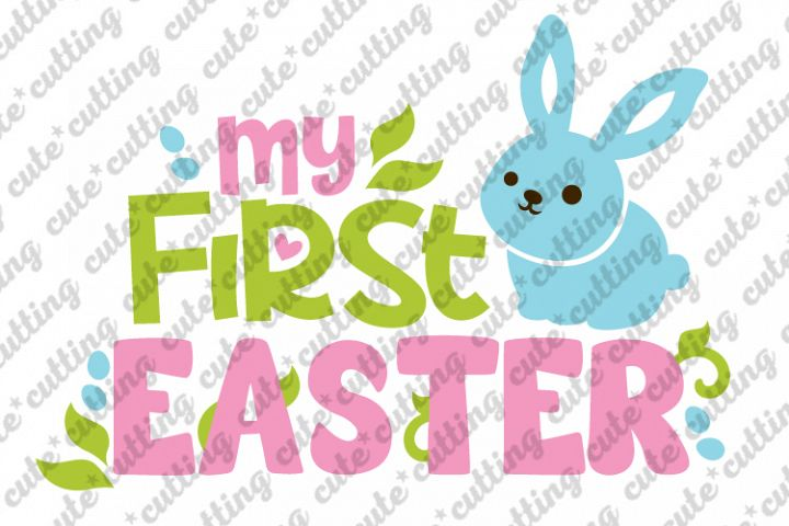 Easter svg, My First Easter svg, My 1st Easter Day svg, png