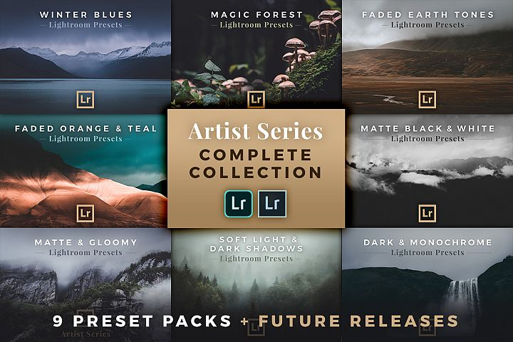 9 Lightroom Preset Packs for Fine Art Photography