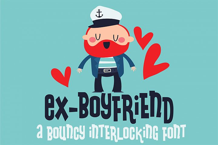 ZP Ex-Boyfriend - Free Font of The Week