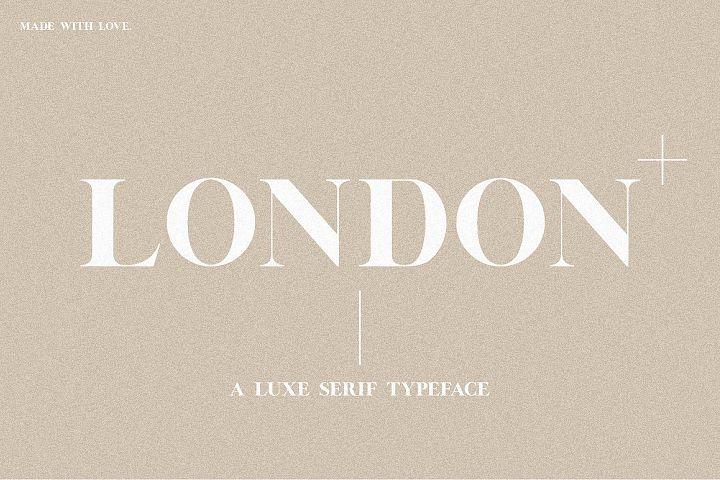 London | A Luxe Serif
