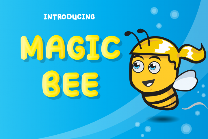 Magic Bee Display Font