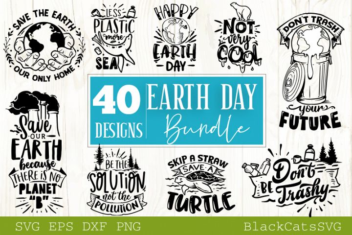 Earth Bundle SVG bundle 40 designs
