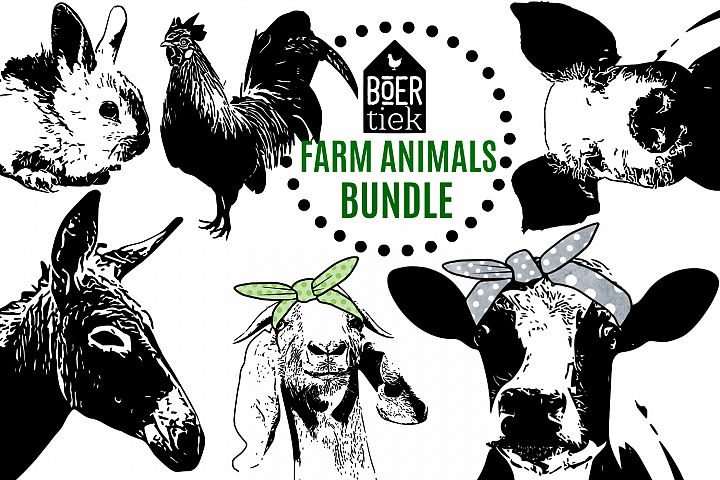 Farm animals bundle part 1