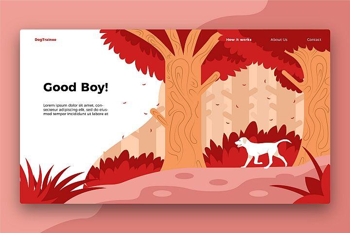 Good Dog - Banner & Landing Page
