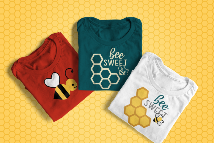 Bee Sweet Honeycomb SVG File