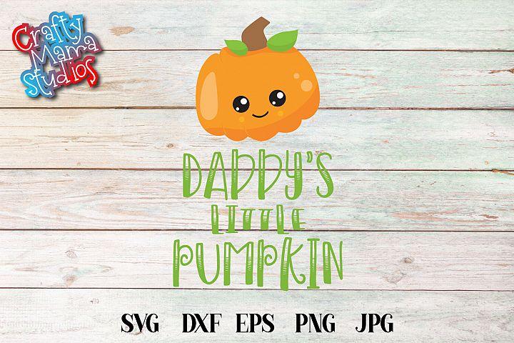 Daddys Little Pumpkin SVG Sublimation, Halloween SVG