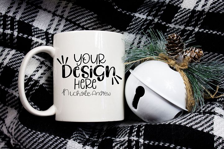 Christmas Mug Mock-Up