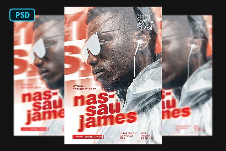 Hip Hop Artist Flyer Template