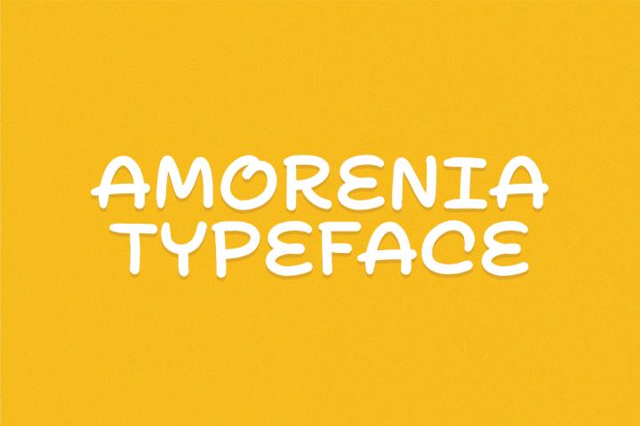 Amorenia Typeface