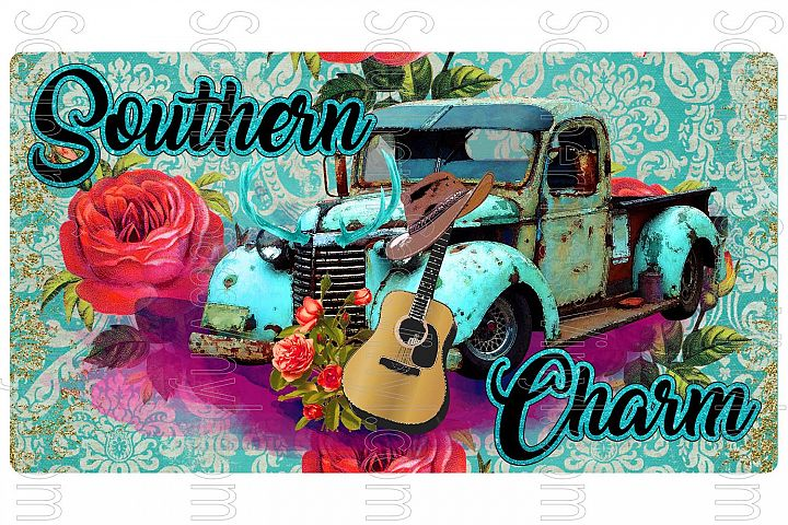 Southern Charm- Ready to Print Design