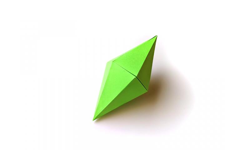 12 Sided 3D Gem SVG PDF Design