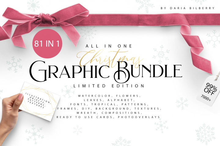 CHRISTMAS BIG GRAPHIC BUNDLE