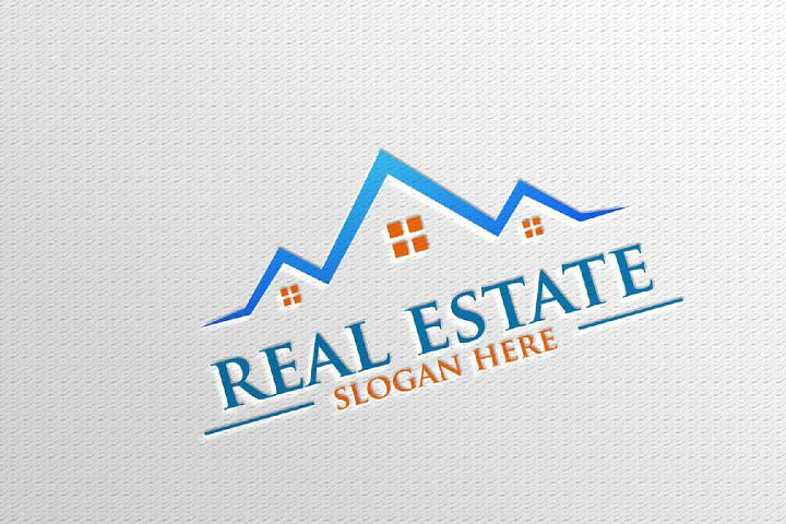 Real estate Vector Logo Design, Abstract Building and Home 8