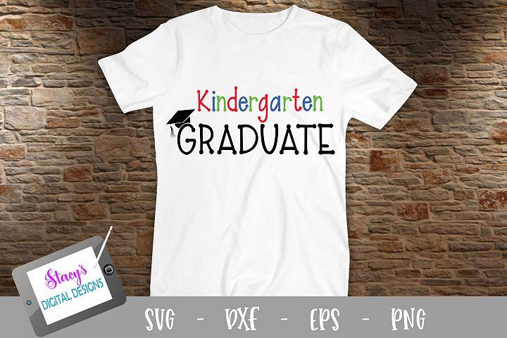 Kindergarten Graduate SVG - Graduation SVG