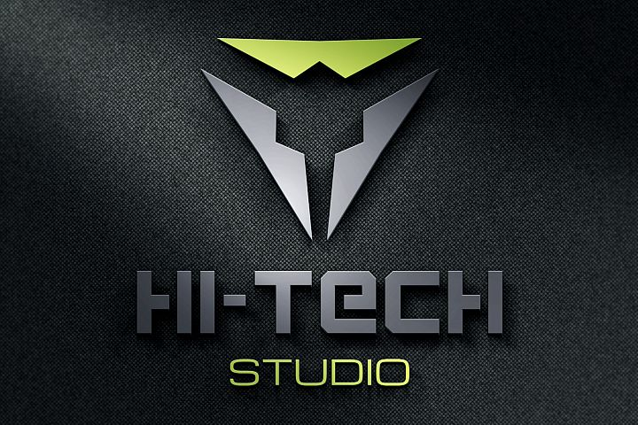 Modern Hi-Tech Logo example