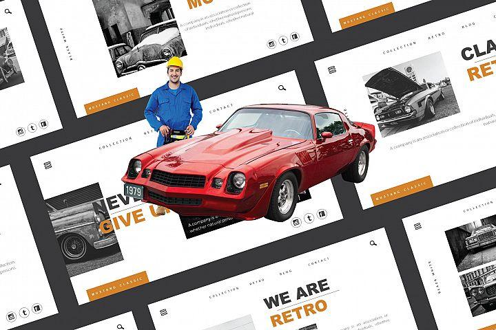 Mustang Keynote Template