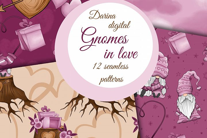 Gnomes in love patterns