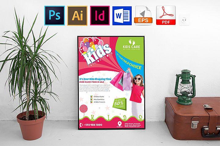 Poster | Kids Fashion Shop Vol-01