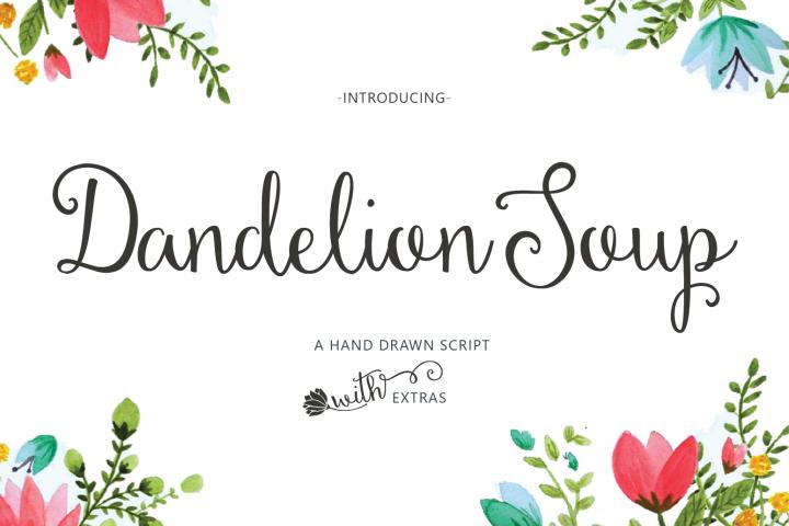 Dandelion Soup + Ornaments