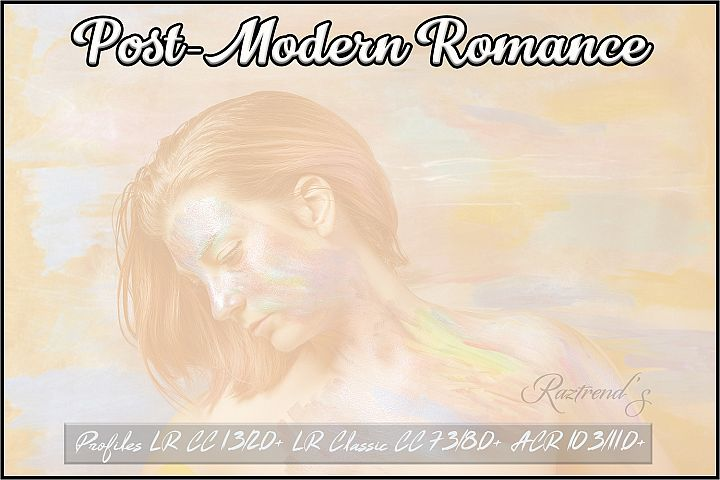 Post-Modern Romance profiles LR 7.3 ACR 10.3