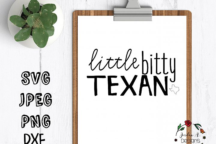 little bitty texan svg cut file texan texas dxf svg files for cricut silhouette little texaan svg designs cut files