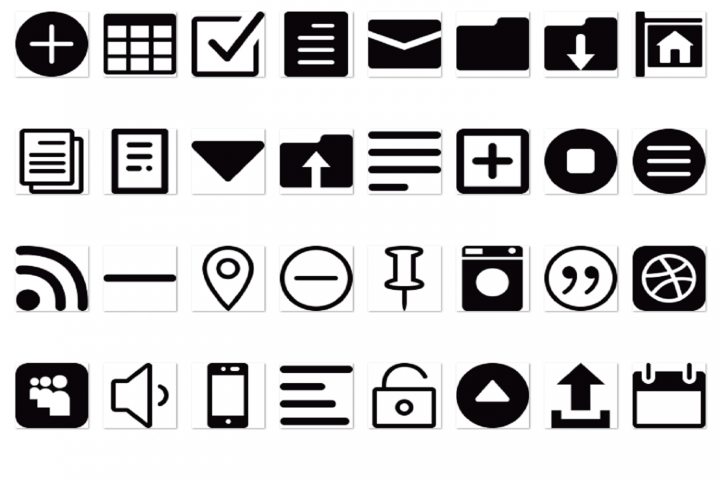 Interface Icons vol 2