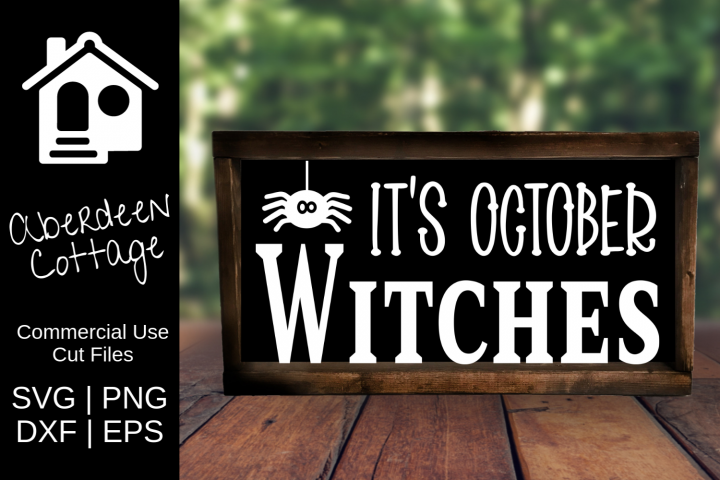 October Witches SVG