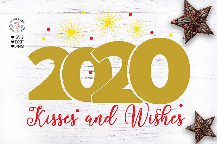 2020 kisses and wishes