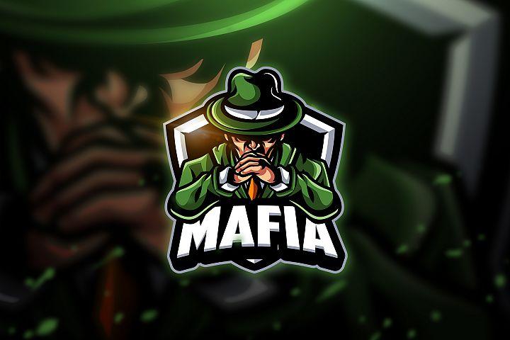 Mafia - Mascot & Esport Logo