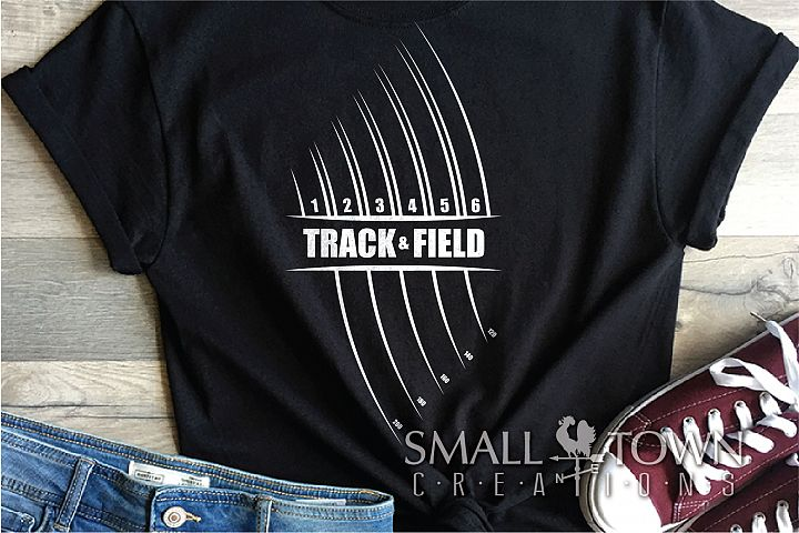 Track and Field, Team sport, Track logo, PRINT, CUT, DESIGN