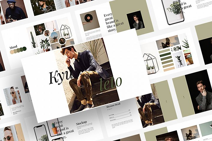Kyuleto - Powerpoint Template