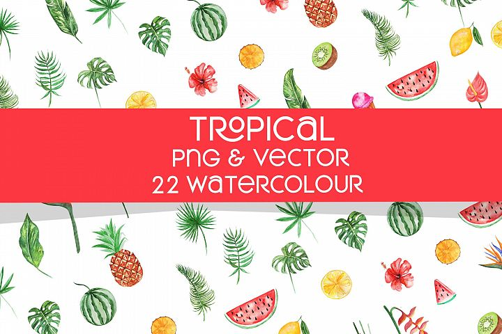 Tropical Water Colour