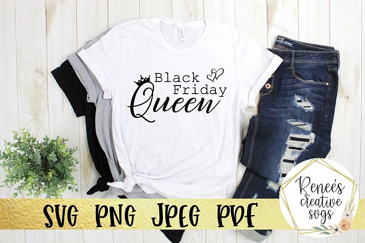 Black Friday Queen|Black Friday|SVG Cut File
