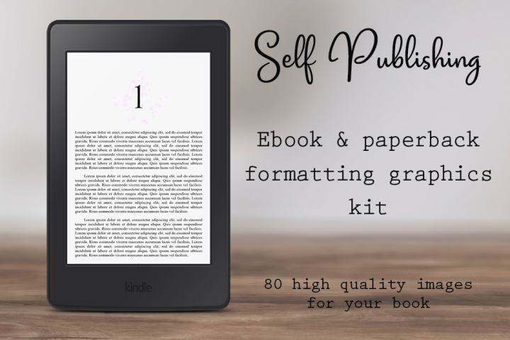 Self-Publishing Book Formatting Graphics Version 29