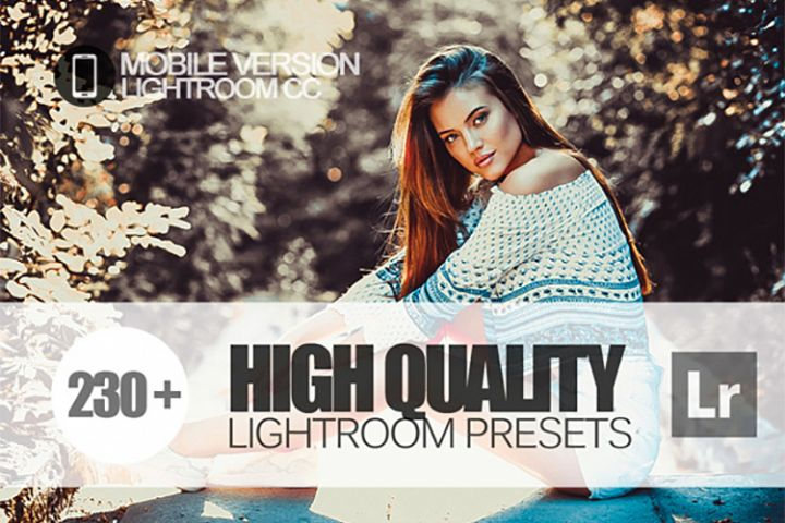 230 High Quality Lightroom Mobile bundle Presets for Lightro