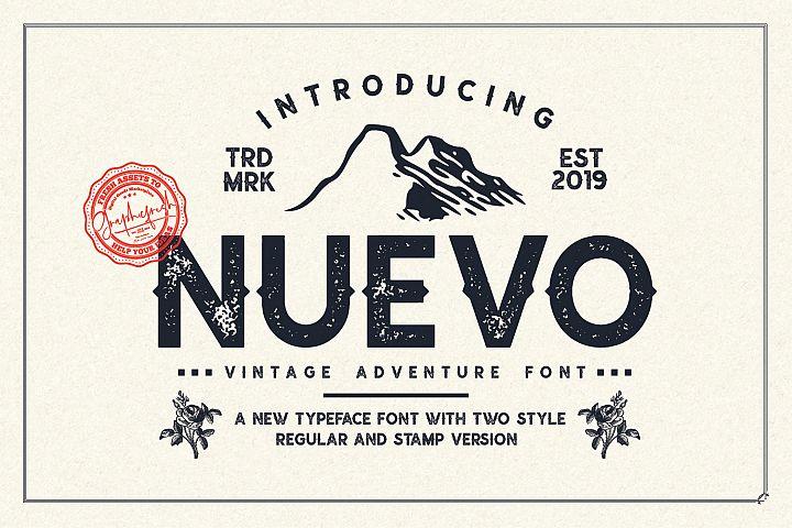 Nuevo - Vintage Adventure Font
