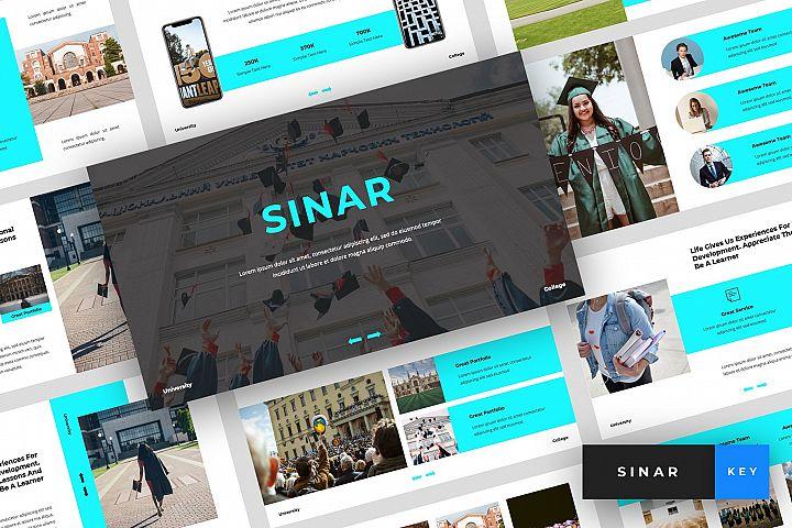 Sinar - University Keynote Template