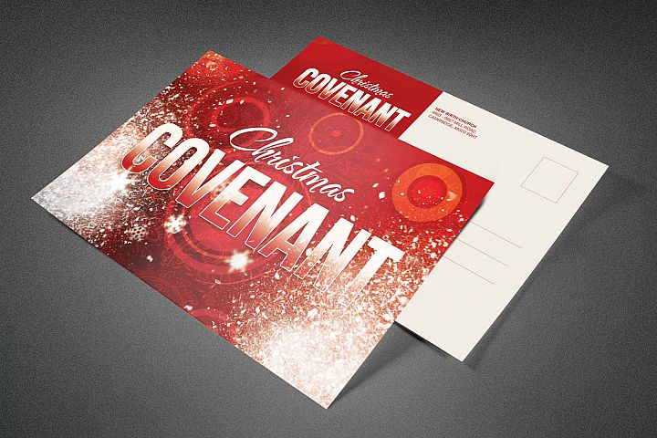 Christmas Covenant Church Postcard