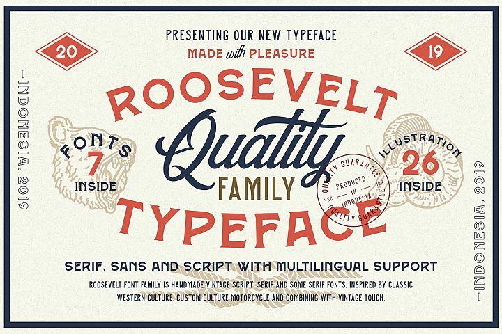 Roosevelt Font Family